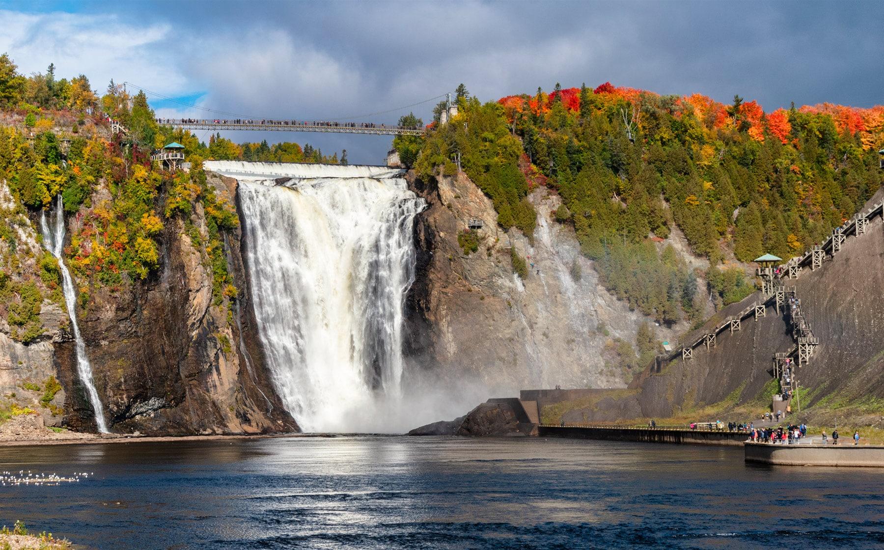 Le parc de la Chute-Montmorency : Impressionnante beauté | Québec ...