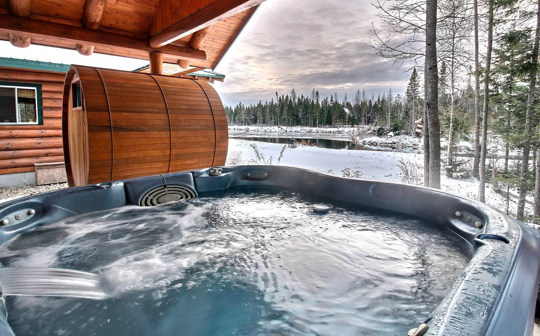 Au Chalet en bois rond : le luxe a la canadienne   Québec le Mag