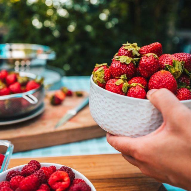 C'est la saison des fraises au Québec ! 🍓  Partagez-nous vos recettes gourmandes et vos meilleures places de cueillette ! 📸 - @lesfraichesduquebec  • • • #quebeclemag #quebec #qc #fruits #fraises #strawberry #fraisesduquebec #foodporn #food #explorequebec #explorecanada #lesfraichesduquebec #ete2021 #achetezlocal